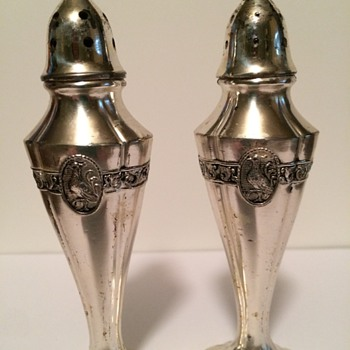 Metal Salt and Pepper Shakers - Kitchen