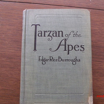 Early 1914 Tarzan of the Apes - Books