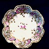 "Nippon 8 "" Berry Bowl with Violets/Marked Hand Painted Royal Crockery (RC) Nippon/ Circa 1911"