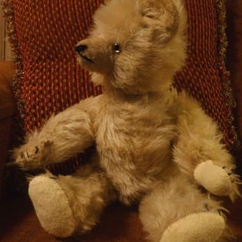 Old Mohair Teddy Bear