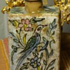 Persian Pottery Bottle - Qajar Pottery