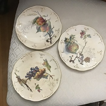 Old Villeroy and Boch plates