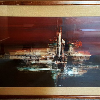 Cityscape Print by Jerry Stangl
