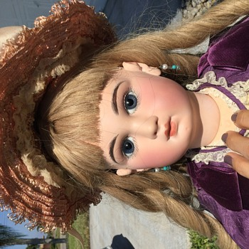 "25"" Antique French doll"