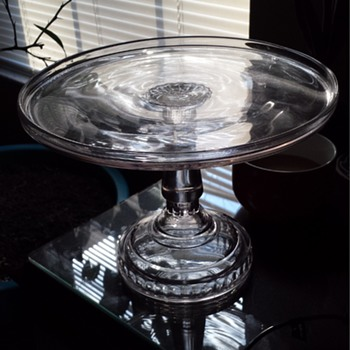 EAPG cake stand? - Glassware