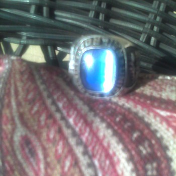 Union Pacific Sterling Silver Ring