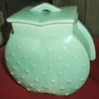 Hobnail Heart Jar