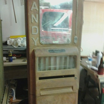 1940s Rowe Candy machine  - Coin Operated