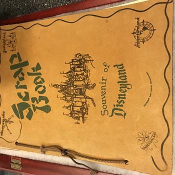 Disney scrap book - Advertising