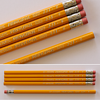 Mistake or ...? Eberhard Faber Principal Pencil ferrule on wrong end