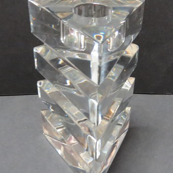 Riedel Glass / Crystal Candlestick - Art Glass