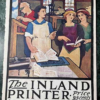 The Inland Printer, Saturday Evening Post, Norman Rockwell, etc. - Paper
