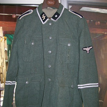 Favotite piece of history WWII German SS jacket - Military and Wartime