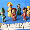 Unknown Disney or Marx plastic molded mini figures