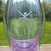 Czech Glass Alexandrite Vase