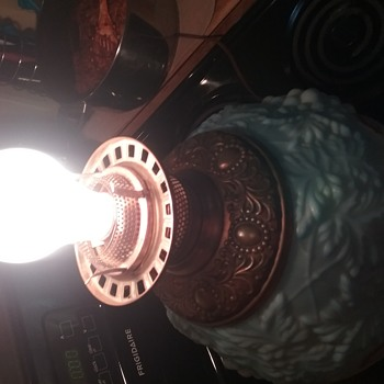 My Beautiful Electric,Vintage, 2-Way light up and Table Top Lamp