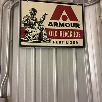 Armour Fertilizer sign - Signs