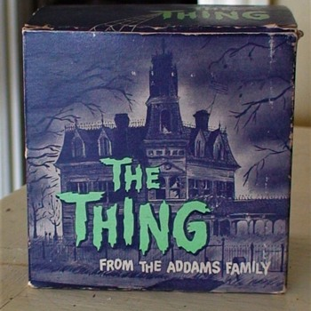 "Addams Family 1964 ""The Thing""  BankWith Great Box - Toys"