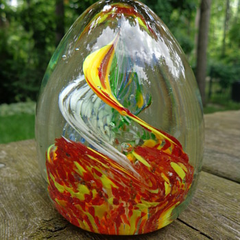 Joska Design Silberberg-Kristal Paperweight - Art Glass