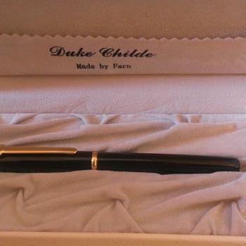 Duke Childe by Farn (Uranus) Fountain Pen