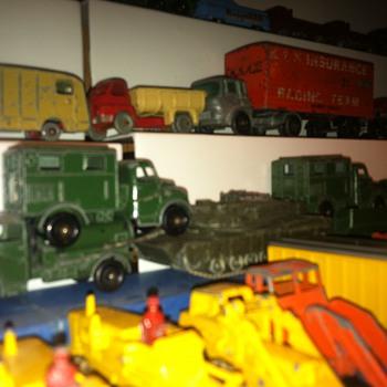 Matchbox trucks, different models...All common trucks