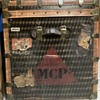 Antique Au Depart trunk and provenance