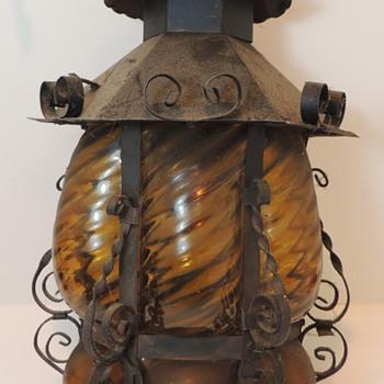 Gothic Hanging Lantern - Lamps