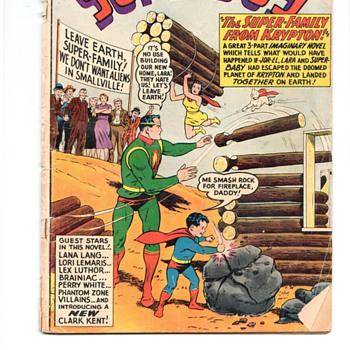 SUPER BOY COMIC