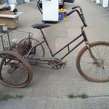 Old tricycle.