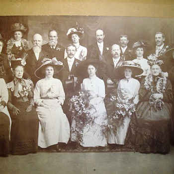 A Family Wedding Then and Now.... - Photographs