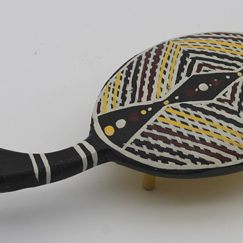 Turtle by Gerry Blitner aboriginal artist - Folk Art