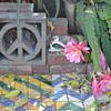 Peace symbol screen block