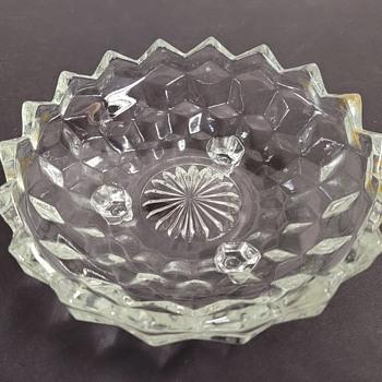 Fostoria - American Pattern Glass Dish - Glassware