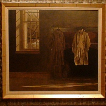 """""""The Quaker"""" By Andrew Wyeth Collotype By Triton Press Exact Special Print And Frame Approved By Andrew Wyeth"""