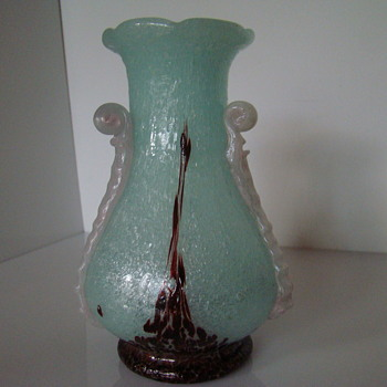 Two Beranek vases - Art Glass