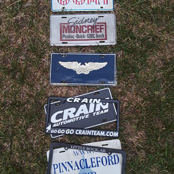 my *not* license plates - Classic Cars