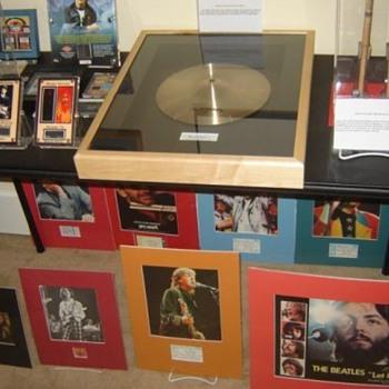 Ringo's cymbal... - Music Memorabilia
