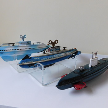Tin Submarines - Toys