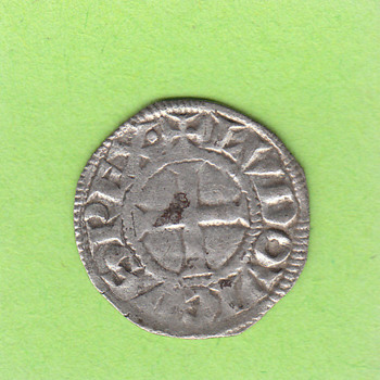 Denier of Louis VIII (The Lion) - World Coins