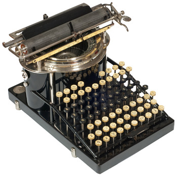Yost typewriter - 1887 - Office