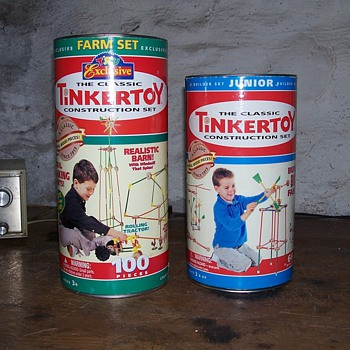 TinkerToy sets - Toys