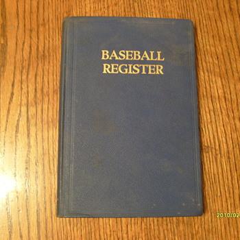 Baseball Register 1941 - Books