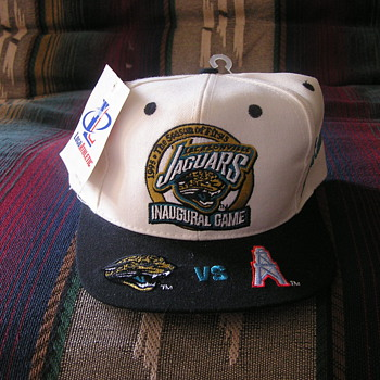 Jacksonville Jaguars Inaugural Game Hat - Football
