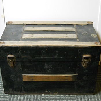 Child Trunk, Circa late 1800 - Furniture