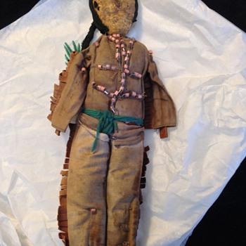Early Native American Doll - Dolls