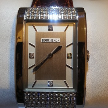 Boucheron 99 +4 diamond watch. - Fine Jewelry