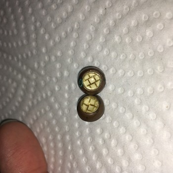 Gold Vintage Buttons - Sewing