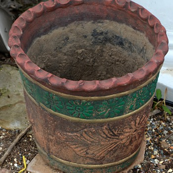 Interesting Mexican Planter / Pot - Native American