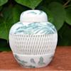 Imari Hand Painted Ginger Jar