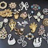 My Collection of Brooches